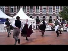 Rheinländer - German folk dance - YouTube
