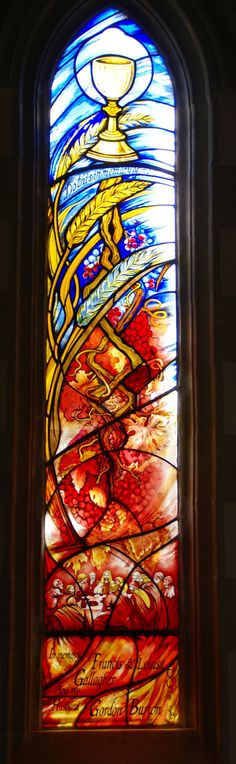 St Colman's Eucharist stained glass window | Flickr - 相片分享!