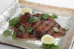 the chew | Recipe  | Michael Symon's Grilled Korean Style Strip Steak