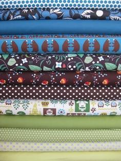 Fabricworm Custom Bundle, Happy Kingdom, 12 Total