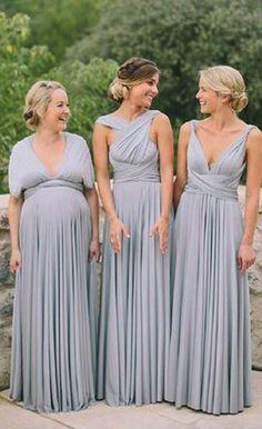 Convertible Formal Long Cheap Wedding Party Bridesmaid Dresses, PM0811 #wedding #weddingpartydress #bridesmaids #bridesmaidsdress
