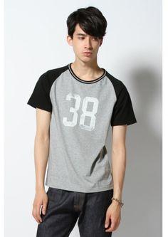 Journal Standard ラグランプリントTシャツ / Simple Print Shirt on ShopStyle