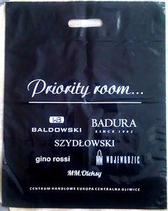 Reklamówka - priority room - http://mk-pak.pl