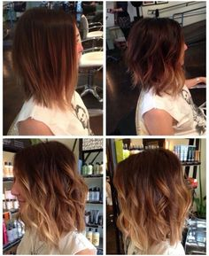 Do you love this lovely ombre bob hair style? Here are our favorite 20 Ombre Bob Hairstyles. Browse through fabulous ombre hair color ideas with bob styles, and. Wavy Bob Hairstyles, 2015 Hairstyles, Pretty Hairstyles, Hairstyle Ideas, Middle Hairstyles, Pinterest Hairstyles, Lob Hairstyle, Style Hairstyle, Trending Hairstyles