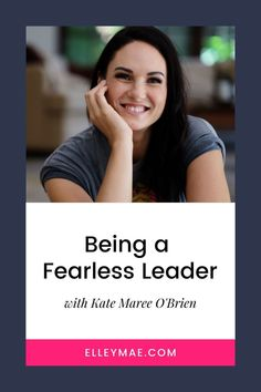 How to step into your role as a fearless leader and business woman. Tips for your entrepreneur mindset. #EntrepreneurTips #BusinessWoman Business Tips, Business Women, Entrepreneur, Women In Business