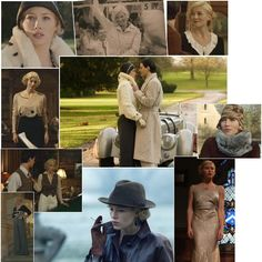 Fashion in Film: Easy Virtue - Jessica Biel as Larita. Costumes by Charlotte Walter. 1920s, but no flapper dresses here - flowing palazzo pants for this modern gal.