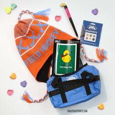 Any Field Hockey Girl will LOVE our Field Hockey Valentine's Day Gift Bag!