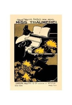 'Miss Traumerei' Print (Unframed Paper Poster Giclee 20x29)