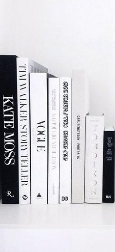 Via NordicDays.nl | Eliarose89 | Black and White | Styling | Books