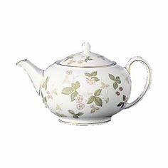 Wild Strawberry Teapot S/S, Wedgwood