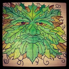 The Green man Photo by wightwitch