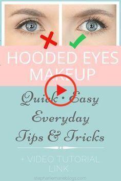 Jos sinulla on hupullinen silmä eikä sinulla ole aikaa siivekälle vuorille, dramaattisille varjoille ja väärille ripsille päivittäin, tämä on sinulle. Helppo, nopea, luonnollisen meikin opetusohjelma Dramatic Eye Makeup, Dramatic Eyes, Natural Eye Makeup, Eye Makeup Tips, Makeup Hacks, Makeup Ideas, Makeup Tutorials, Makeup App, Eyeshadow Tutorials