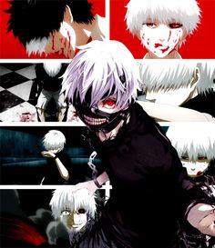 Tokyo Ghoul: Ken Kaneki White Hair http://www.xdlol.com/2014/11/tokyo-ghoul-ken-kaneki-white-hair.html
