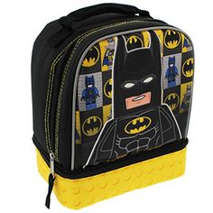 Batman Backpack and lunch bag kit tumbler cup Set of 3