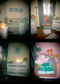 The Nursery confessions of a thriftoholic: A Place for Baby to Sleep.