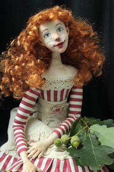 Tia. OOAK doll by Renata Krajcovicova 08/2016 (45 cm tall)