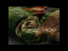 Ya sea de entrada o aperitivo, ¡este rollo de salmón con espinaca no dejará a nadie indiferente! - YouTube