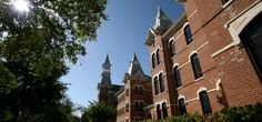 Love that classic #Baylor architecture. // Georgia Burleson Hall, erected 1887