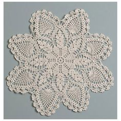 ConsumerCrafts Product 6 inch Ecru Pineapple Doily - $1.47