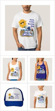 Get ready for your Beach Weekend!  #FamilyReunion - Personalize it…..a fun keepsake from your summer gathering! Add your family surname or personalize each shirt with your a first name of your family member! Beach Party ‪#‎FamilyReunion‬ T Shirts are available in a variety of colors and styles for the whole family: T-shirts, Tank Tops, Hoodie and more! #Zazzle #Gravityx9