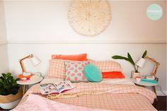 www.mintedinteriors.com  #styling #interiors #bedroom #masterbedroom #tropical #beachside #coastal