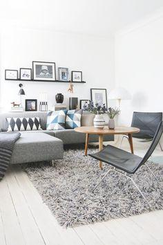 17 Apartamentos Pequenos Para Você Se Inspirar | Apartments, White Ceiling  And Exhibit