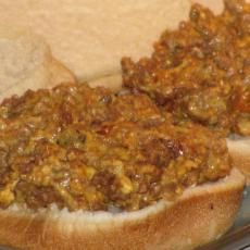 """Crock Pot """" Cheeseburgers """" (slow Cooker) With Ground Beef, Catsup, Mustard, Velveeta, Hamburger Buns Velveeta Recipes, Meat Recipes, Slow Cooker Recipes, Crockpot Recipes, Cooking Recipes, Crockpot Dishes, Beef Dishes, Fish Dishes, Cooking Ideas"""