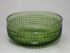 Got this big Barokki-bowl. Designer Erkkitapio Siiroinen - Riihimäen lasi