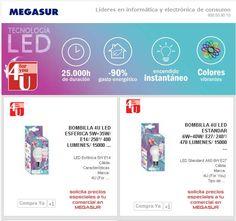 Ilumina con LED tu hogar y ahorra en Megasur