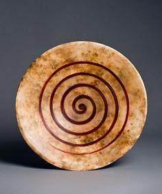 """""""Spiral of Life"""" bowl by Heidi Loewen"""