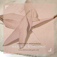 Natural and organic fabrics @dahliasrodriguez