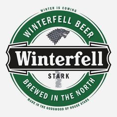 Game Of Thrones Houses As Existing Beer Brand Labels  (via geekologie)