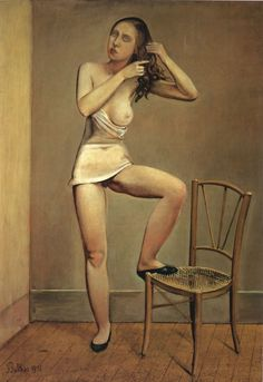 """pmikos: """" Balthus, Alice Excerpt from: Balthus lessons - five controversial works by the French artist; Art in America , Sept, 1997 by Sabine Rewald: Alice disturbs by its clinically realistic. Pablo Picasso, Figure Painting, Painting & Drawing, Life Drawing, Musée National D'art Moderne, Centre Pompidou Paris, Rainer Maria, Alice, Tate Gallery"""