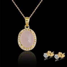 Jewelry Sets, earring & necklace, other color you can choose.