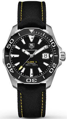 WAY211A.FC6362, WAY211AFC6362, Tag Heuer aquaracer calibre 5 watch, mens