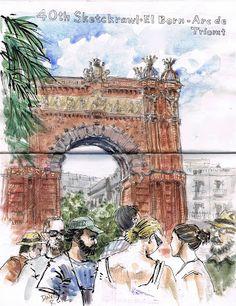 barcelona sketch crawl
