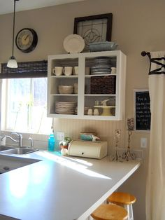 this is the layout of my kitchen! Great inspiration!