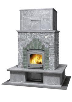 TTU 2700/2 - Tulikivi Soapstone Fireplace