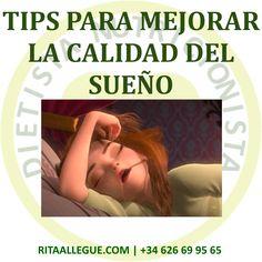 Consejos para dormir bien: Muchas veces una tarea imposible, la cual nos impide llevar una vida sana y equilibrada en todos los sentidos, incluso en la alimentación. Polaroid Film, Dietitian, Healthy Life, Get Skinny, Diets, Tips, Health