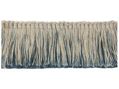 Groundworks TL10124-55 by Kelly Wearstler Fringe-Brush / Moss
