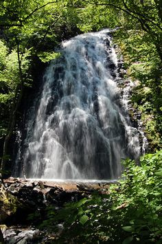 Crabtree Falls, North Carolina Waterfall on Blue Ridge Parkway....awesome hike to these falls!