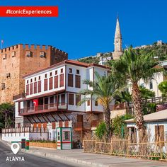 The Seljuq building of Kızıl Kule (Red Tower) is all you need to see just how special a Mediterranean town Alanya is. #IconicExperiences