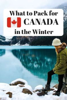 Planning on visiting Canada in Winter but unsure of what to bring? Here's my Canadian packing list- the winter edition. canada, Canada Packing List: The Best Winter Clothes for Canada Canadian Winter, Canadian Travel, Canadian Christmas, Packing Tips For Travel, Packing Hacks, Travel Hacks, Packing Checklist, Europe Packing, Traveling Europe