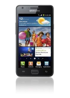 Samsung i9100 Galaxy S II Unlocked GSM Smartphone with 8 MP Camera, Android OS, 16 GB Internal Memory, Touchscreen, Wi-Fi, and GPS--No Warranty (Noble Black) $439.99