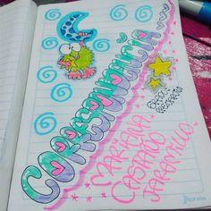 Bubble Letters, Bubbles, Notebook, Journal, Cool Stuff, Disney, Ideas, Notebook Ideas, Molde