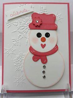 Snowman Punch Art -