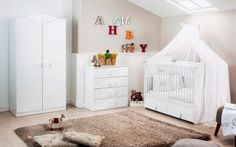 20 Modern Minimal Nursery Room Ideas - Home Nursery Bedding, Nursery Room, Boy Room, Kids Room, Nursery Modern, Nursery Neutral, Baby Bedroom Sets, Bedroom Ideas, Wooden Cribs