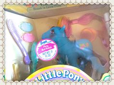 VTG MY LITTLE PONY ❤︎G1 PRINCESS BRUSH 'N GROW❤︎ MIB-MOC-NIB NEW ❤︎ STAR GLEAMER #Hasbro