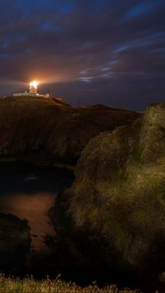 Strumble Head Lighthouse Wales Uk Trip, Let It Shine, Cymru, Light House, Wizards, Windmill, Great Britain, Flashlight, Night Light
