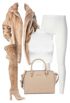 """""""Untitled #14"""" by selena-saad on Polyvore featuring Rick Owens Lilies, Gianvito Rossi, WearAll and MICHAEL Michael Kors"""